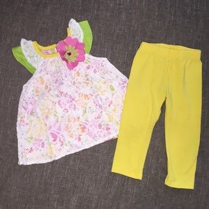 Rare Editions 12 months baby girl set